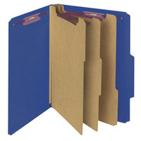 Smead 14096 SafeSHIELD Letter Size Classification Folder - 10/Box