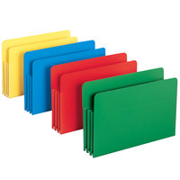 Smead 73550 Legal Size Poly File Pocket - 4/Box