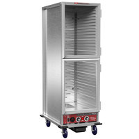 Winholt NHPL-1833-ECOC-2D Non-Insulated Heated Holding / Proofing Cabinet with Clear Dutch Doors - 120V