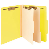 Smead 14004 Heavyweight Letter Size Classification Folder - 10/Box