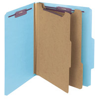 Smead 14030 SafeSHIELD Letter Size Classification Folder - 10/Box