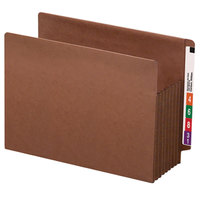 Smead 73795 TUFF Letter Size Extra Wide File Pocket - 5/Box