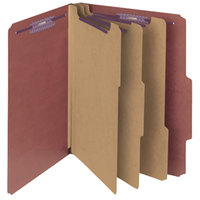 Smead 14092 SafeSHIELD Letter Size Classification Folder - 10/Box