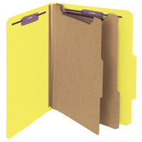 Smead 14034 SafeSHIELD Letter Size Classification Folder - 10/Box