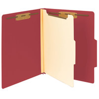 Smead 13703 Heavyweight Letter Size Classification Folder - 10/Box