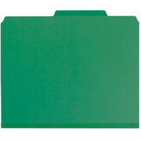 Smead 14938 SafeSHIELD Letter Size Fastener Folder with 2 Fasteners - 25/Box
