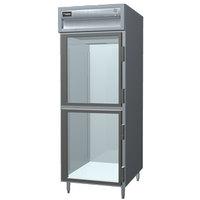 Delfield SADBR1-GH 21.62 Cu. Ft. Glass Half Door Dual Temperature Reach In Refrigerator / Freezer - Specification Line