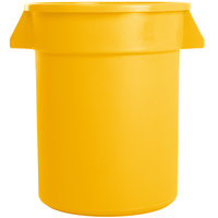 Carlisle 34102004 Bronco 20 Gallon Yellow Trash Can