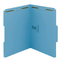 Smead 12040 Letter Size Fastener Folder with 2 Fasteners - 50/Box