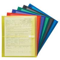 Smead 89669 Letter Size Side Load Poly Envelope - 6/Pack