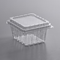 1 Pint Clear Vented Clamshell Produce / Berry Container - 480/Case