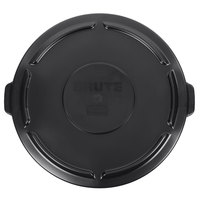 Rubbermaid 1779738 BRUTE 55 Gallon Black Executive Trash Can Lid