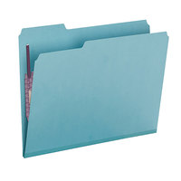 Smead 14937 SafeSHIELD Letter Size Fastener Folder with 2 Fasteners - 25/Box