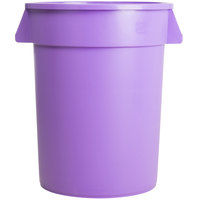Carlisle 34103289 Bronco 32 Gallon Purple Trash Can