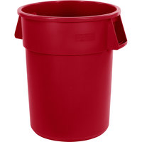 Carlisle 34105505 Bronco 55 Gallon Red Trash Can