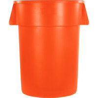 Carlisle 34104424 Bronco 44 Gallon Orange Trash Can