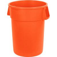 Carlisle 34104424 Bronco 44 Gallon Orange Trash Can