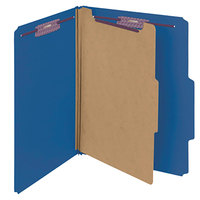 Smead 13732 SafeSHIELD Letter Size Classification Folder - 10/Box