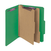 Smead 14033 SafeSHIELD Letter Size Classification Folder - 10/Box