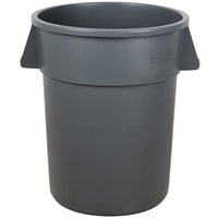 Carlisle 34105523 Bronco 55 Gallon Gray Trash Can
