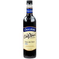 DaVinci Gourmet 750 mL Sugar Free Chocolate Flavoring Syrup