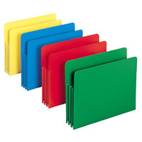 Smead 73500 Letter Size Poly File Pocket - 4/Box