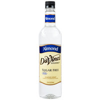 DaVinci Gourmet 750 mL Sugar Free Almond Flavoring Syrup