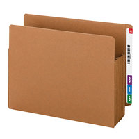 Smead 73790 TUFF Letter Size Extra Wide File Pocket - 10/Box