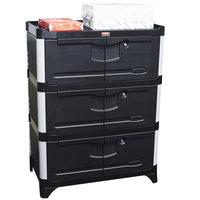 Rubbermaid FG9T4100BLA Enclosed Cabinet Conversion Kit