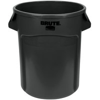 Rubbermaid 1779734 BRUTE 20 Gallon Black Executive Trash Can