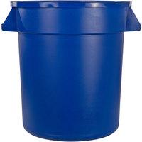 Carlisle 34102014 Bronco 20 Gallon Blue Trash Can