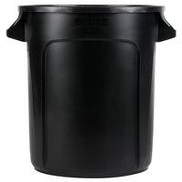 Rubbermaid 1926827 BRUTE 10 Gallon Black Executive Trash Can