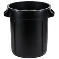 Rubbermaid 1926827 BRUTE 10 Gallon Black Executive Trash Can