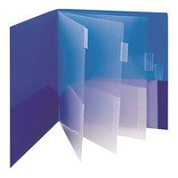 Smead 89204 Letter Size 10-Pocket Poly Pocket Folder, Assorted Color - 2/Pack
