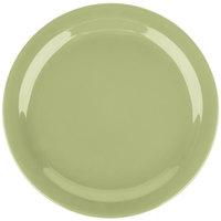 Carlisle 4385082 Wasabi Dayton 10 1/4 inch Melamine Plate - 48/Case
