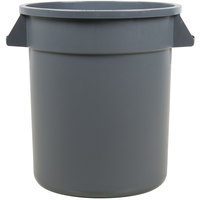 Carlisle 34101023 Bronco 10 Gallon Gray Trash Can
