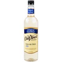 DaVinci Gourmet 750 mL Sugar Free Original Hazelnut Flavoring Syrup