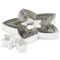 Ateco 7808 10-Piece Stainless Steel Star Cutter Set