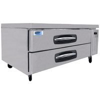Nor-Lake NLCB53 AdvantEDGE 53 inch 2 Drawer Refrigerated Chef Base