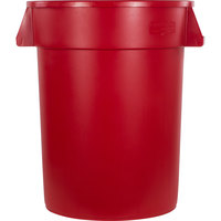 Carlisle 34103205 Bronco 32 Gallon Red Trash Can