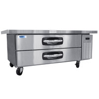 Nor-Lake NLCB60 AdvantEDGE 60 inch 2 Drawer Refrigerated Chef Base