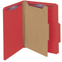 Smead 13731 SafeSHIELD Letter Size Classification Folder - 10/Box