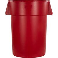 Carlisle 34104405 Bronco 44 Gallon Red Trash Can