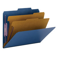 Smead 14032 SafeSHIELD Letter Size Classification Folder - 10/Box