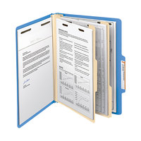 Smead 14001 Heavyweight Letter Size Classification Folder - 10/Box