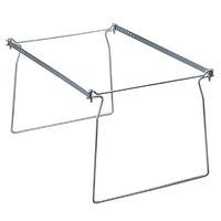 Smead 64872 8 1/2 inch x 23 inch Steel Hanging Folder Frame - Letter   - 2/Pack