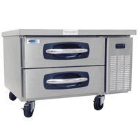 Nor-Lake NLCB36 AdvantEDGE 36 inch 2 Drawer Refrigerated Chef Base
