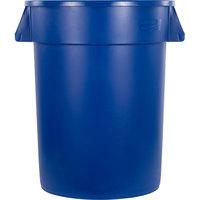 Carlisle 34103214 Bronco 32 Gallon Blue Trash Can