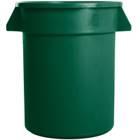 Carlisle 34102009 Bronco 20 Gallon Green Trash Can