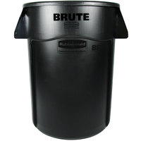 Rubbermaid FG264360BLA BRUTE 44 Gallon Black Executive Trash Can